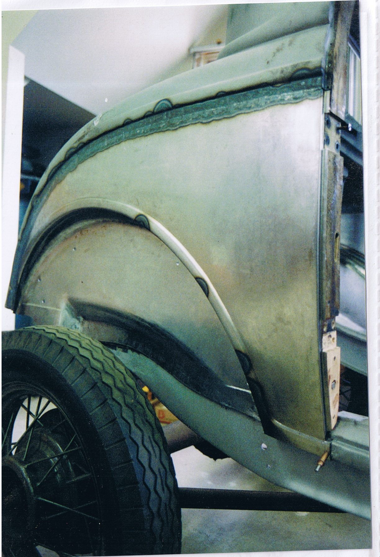Front Bumper Repair >> 1932 Ford 3w Quarter Panel Fabrication